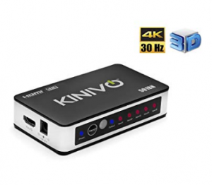 HDMI Switch with IR Wireless