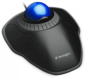 Trackball Mouse with Scroll Ring