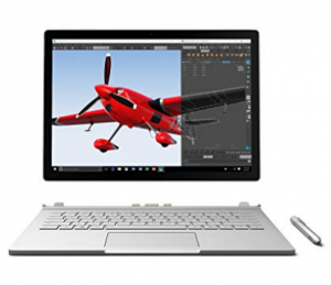 Microsoft Surface Book Laptop for engineering student