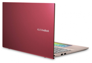 Asus VivBook thin and light pink laptop