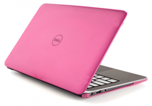 Dell XPS 13 pink laptop
