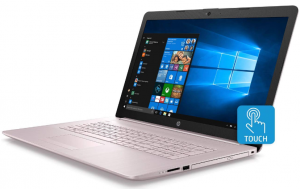 HP Touchscreen Pink Laptop