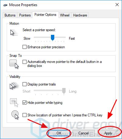 Mouse DPI setting steps