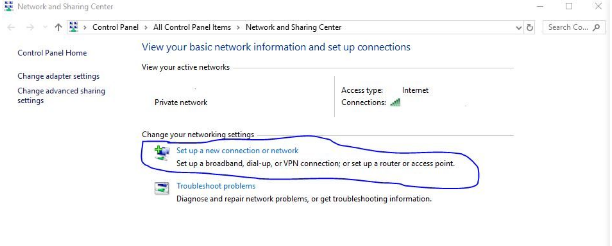 step 3 how to share internet from laptop to desktop windows 10