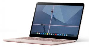 Google Pixelbook rose gold laptop