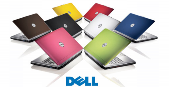 dell colored laptops