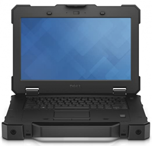 Dell Latitude 7212 Rugged Extreme black laptop