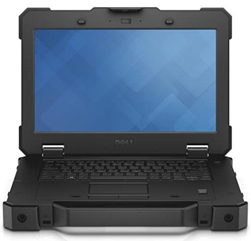 Dell Latitude 7212 Rugged Extreme black laptopGadgetScane