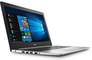 dell inspiron 15 business laptop in silver color