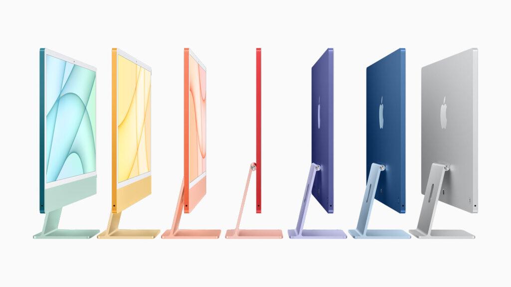 Apple iMac M1 colors