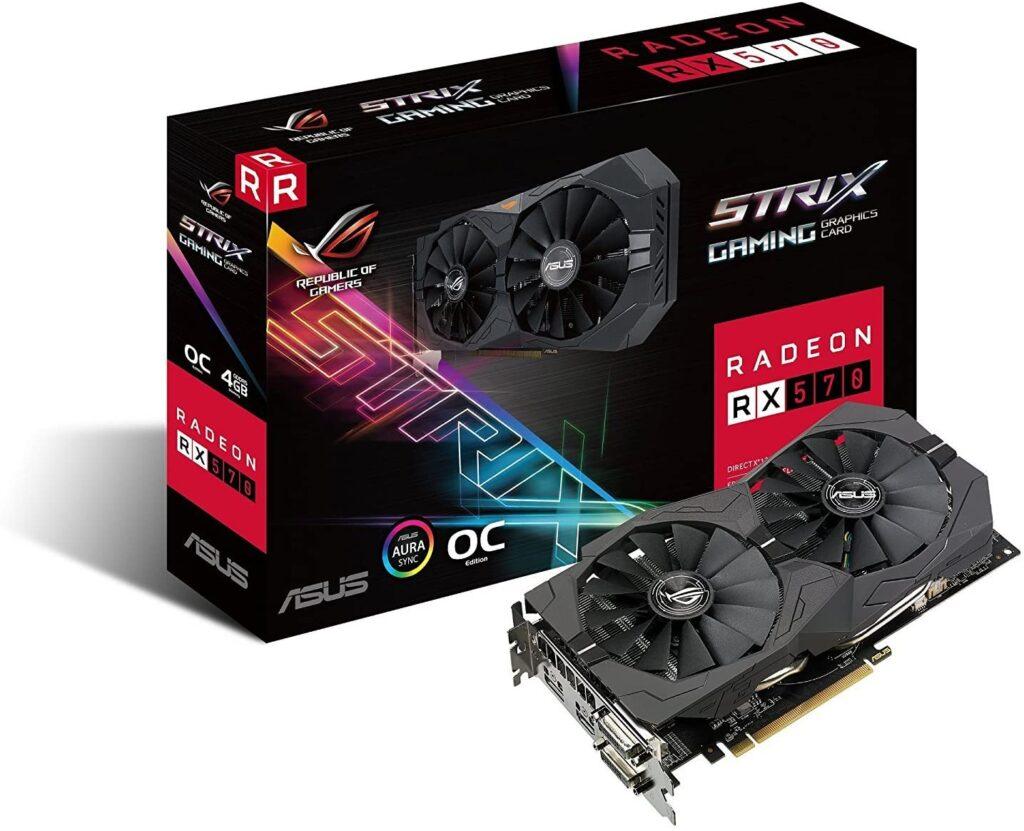 ASUS ROG STRIX Radeon RX 570 O4GGadgetScane