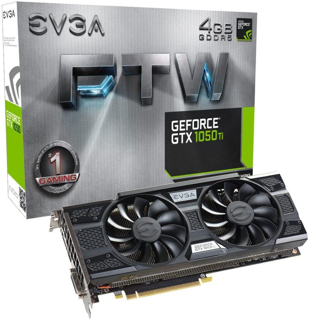 EVGA GeForce GTX 1050 TiGadgetScane